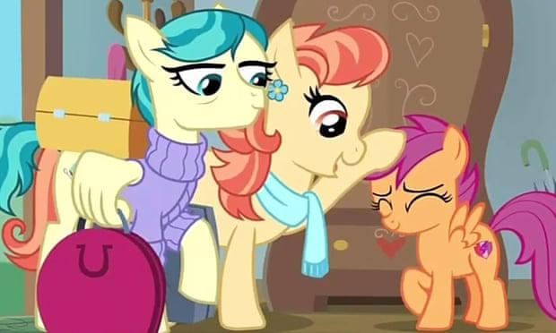 mi pequeño pony lesbianas