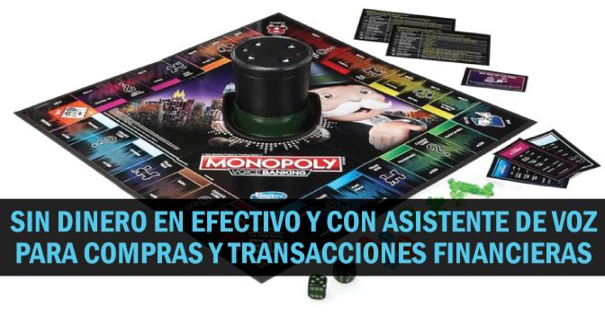 """Nueva versión del juego de mesa """"Monopoly"""" no usa dinero en efectivo"""
