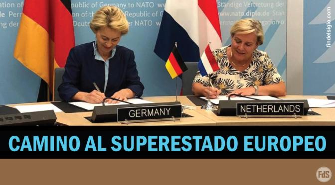 Red militar conjunta entre Alemania y Holanda