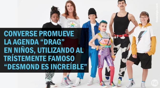 """""""Pride"""": Popular marca Converse lanza colección de zapatillas promoviendo la agenda LGBT en niños"""