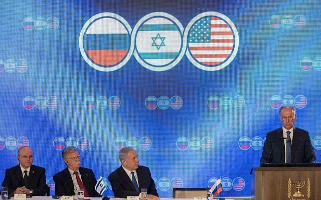 cumbre trilateral jerusalen