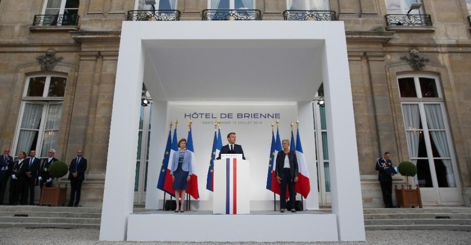 Macron discurso ejercito espacial