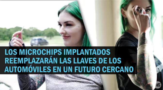 Mujer se implanta el chip RFID de la llave de su automóvil en su brazo