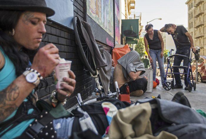 gente viviendo en las calles San Francisco 2