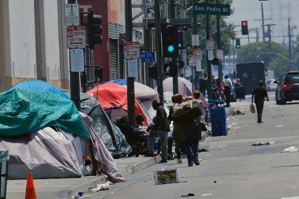 gente viviendo en las calles San Francisco