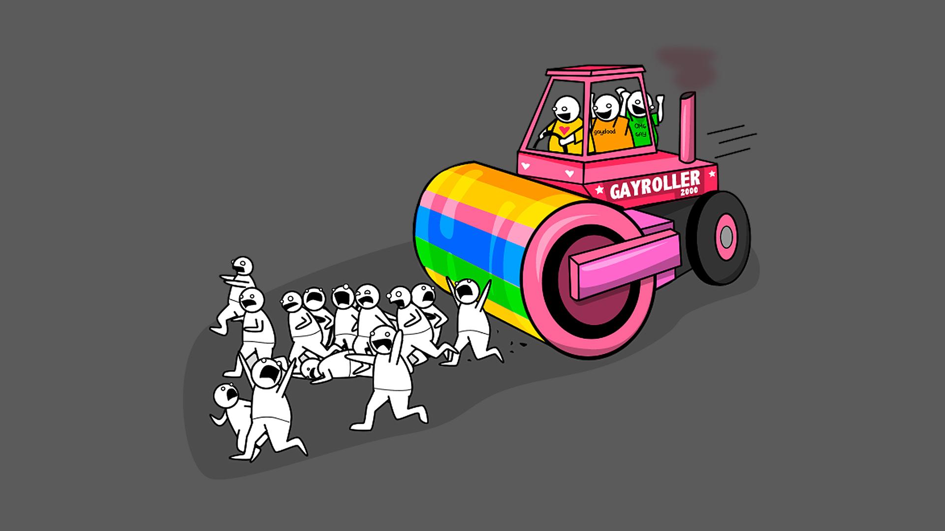 aplanadora gay