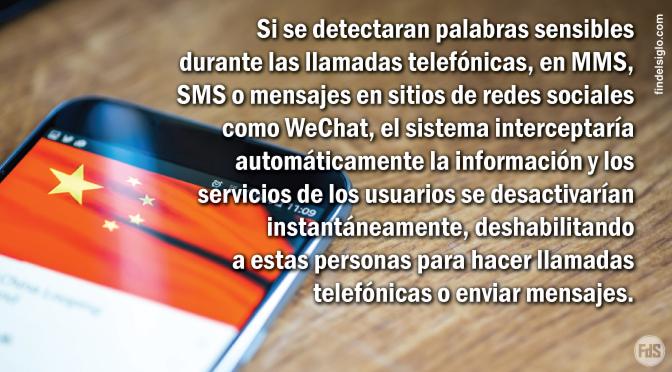 """[China] Dispositivos móviles son escaneados por el gobierno comunista: escribir o decir """"Dios Todopoderoso"""" significa castigo inmediato"""