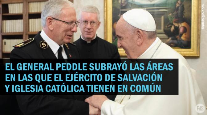 El Ejército de Salvación visita el Vaticano como parte de la agenda ecuménica