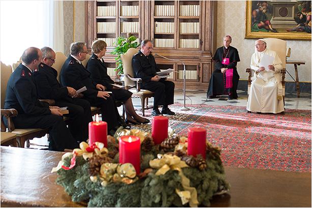 ejercito de salvacion en el vaticano