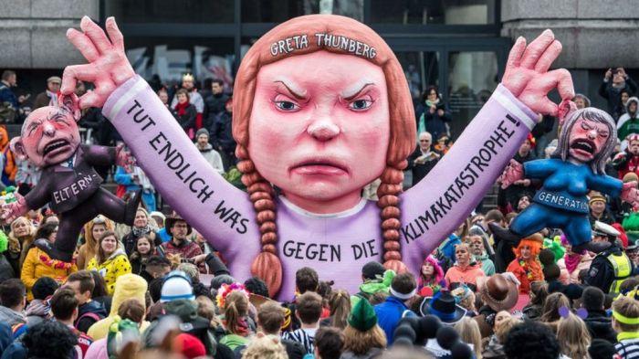 niños marcha histeria climatica 4