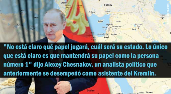 ¿El ascenso de Gog? Putin se posiciona para influir en Rusia de por vida