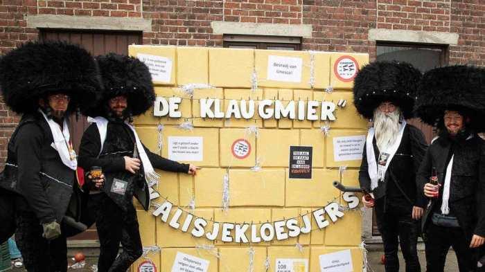 disfraces antisemitismo canaval Belgica 3