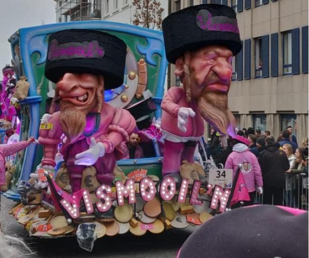 disfraces antisemitismo canaval Belgica 5