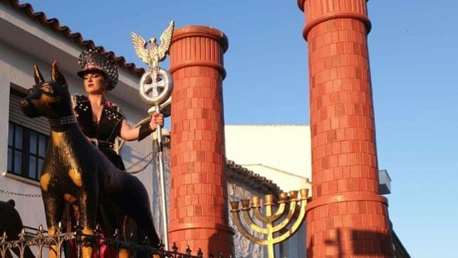 disfraces antisemitismo canaval españa 2