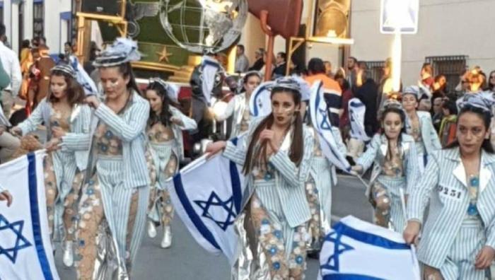 disfraces antisemitismo canaval españa 3