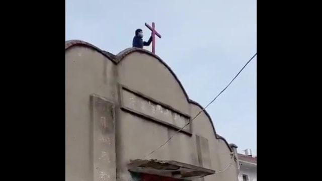desmantelamiento de cruz - china
