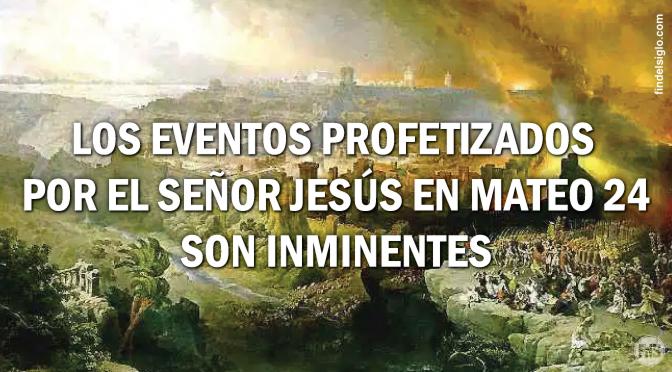 """Comentario de la pregunta de los discípulos de Jesús: """"¿Cuándo serán estas cosas?"""", """"¿Qué señal habrá de tu venida, y del fin del siglo?"""""""