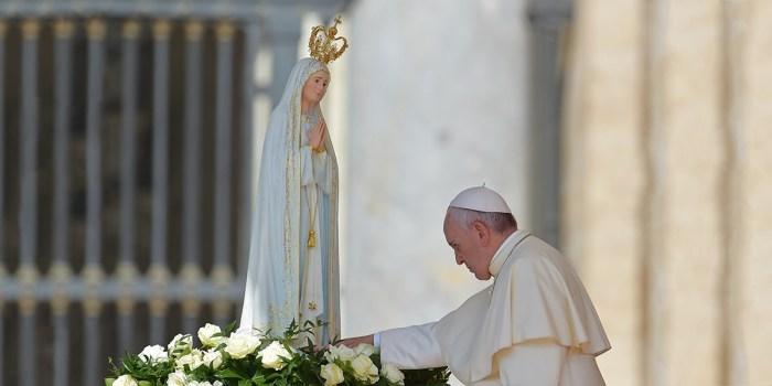 papa francisco y maria