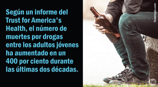 Las muertes por drogas, alcohol y suicidio aumentan entre los millennials