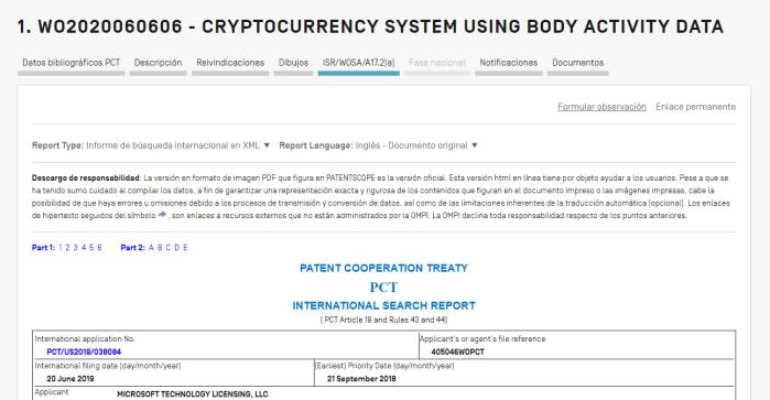 Criptomoneda patente Windows