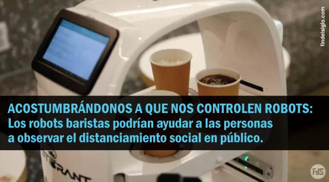 """[Corea del Sur] Café """"contrata"""" robot barista para ayudar con el distanciamiento social"""