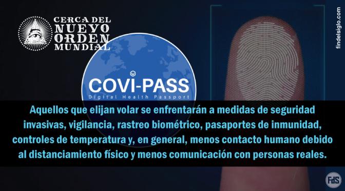 """El futuro """"Pasaporte de inmunidad"""" comienza a materializarse a medida que las aerolíneas solicitan sistemas de seguimiento de identificación digital"""