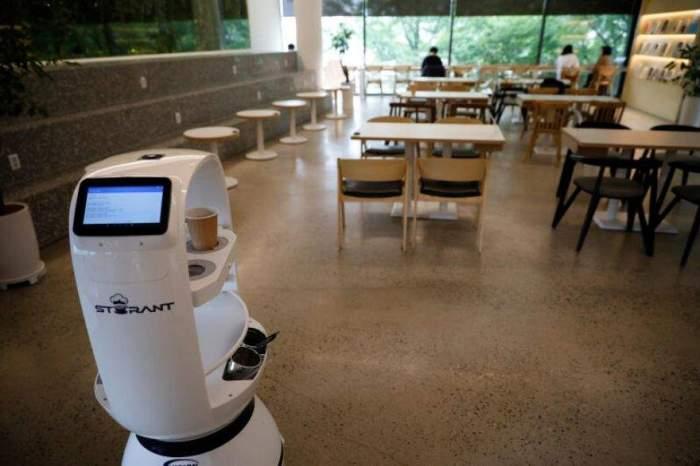robot barista Corea del Sur 1