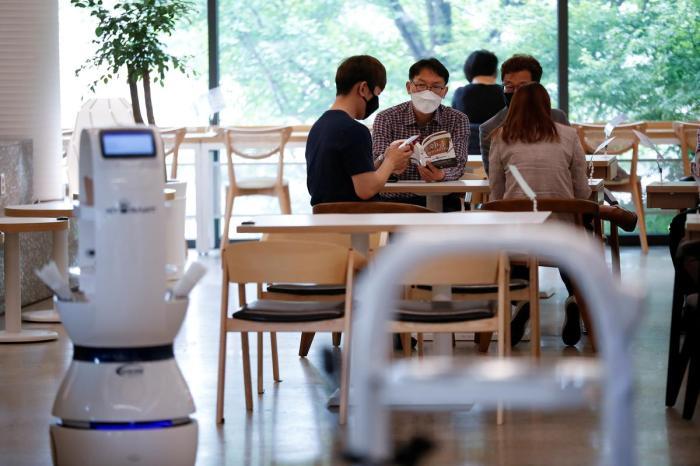 robot barista Corea del Sur 2