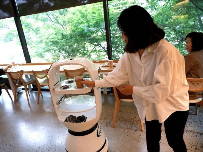 robot barista Corea del Sur 3