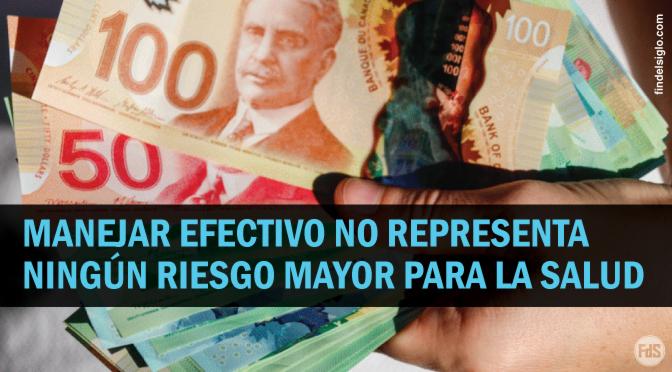 """Banco de Canadá: """"Manejar efectivo no representa un riesgo mayor que tocar otras superficies comunes, como picaportes o pasamanos"""""""
