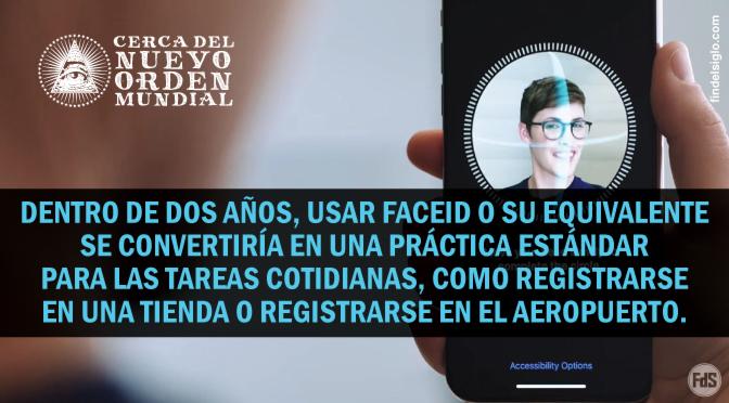 Tecnología de reconocimiento facial en público versus en privado