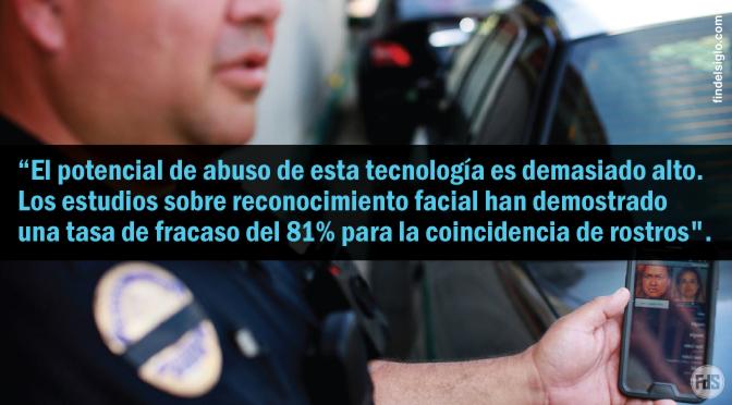 Reconocimiento facial, un problema ético