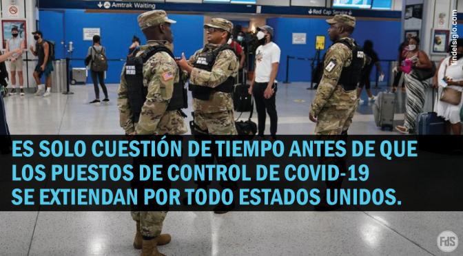 La policía de la ciudad de Nueva York usa la pandemia para crear puestos de control COVID-19
