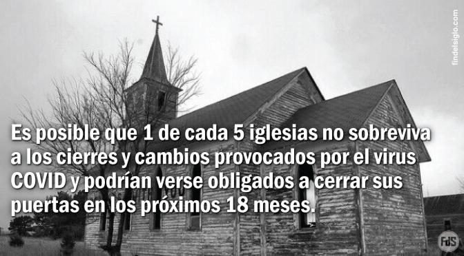 """Las organizaciones benéficas """"han perdido miles de millones"""" y 1 de cada 5 iglesias en EE.UU. """"puede que no sobreviva"""""""