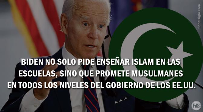 [EE.UU.] La promesa de Biden: musulmanes en todos los niveles de gobierno