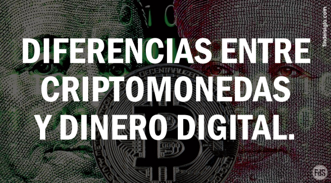 Moneda digital VS Criptomoneda