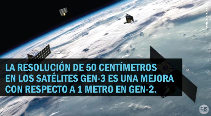 Los satélites de monitorización BlackSky de próxima generación tendrán una resolución de 50 cm