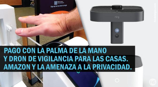 Amazon anuncia vigilancia de correo y escáner de palma para punto de venta