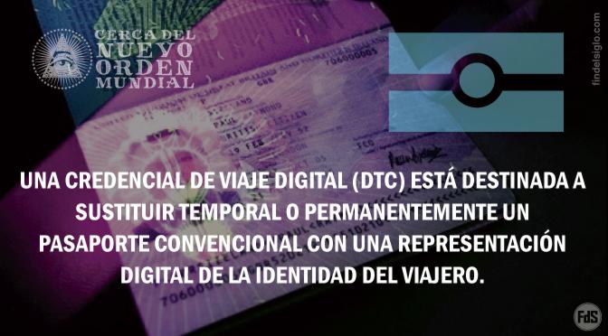 Cerca del reemplazo de pasaportes convencionales por credenciales de viaje digitales