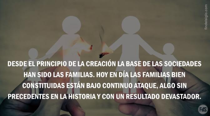 [EE.UU.] Nuevo informe del Congreso demuestra que las instituciones del matrimonio y la familia están siendo destruidas sistemáticamente