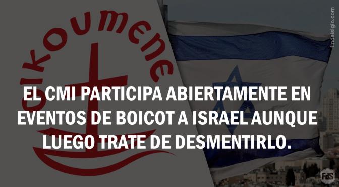 El Consejo Mundial de Iglesias (CMI) y su posición antiisraelí y propalestina