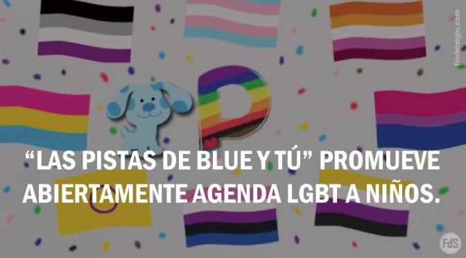 """Programa infantil """"Las pistas de Blue"""" introduce banderas LGBT en la canción del alfabeto"""