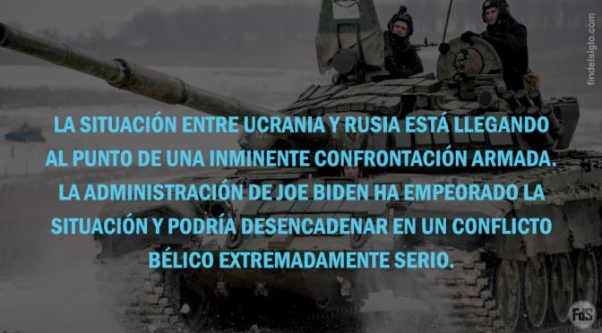 Rumores de guerra: Rusia aumenta su presencia militar cerca de Ucrania. Ucrania endurece su postura. ¿Intervendrán los EE.UU. si el conflicto estalla?