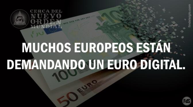 Crece el interés por un euro digital