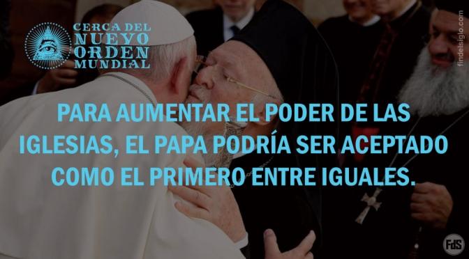 ¿Se someterá la Iglesia Ortodoxa al Papa?
