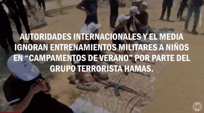 El grupo terrorista Hamas cada año entrena a niños a ser soldados