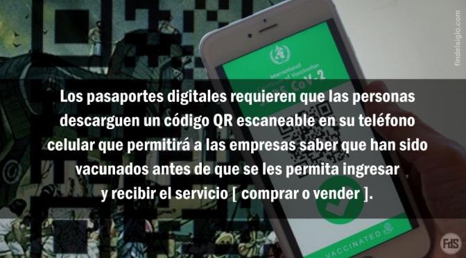 Los pasaportes de salud digital son un caballo de Troya para la sociedad sin efectivo -Parte 1-