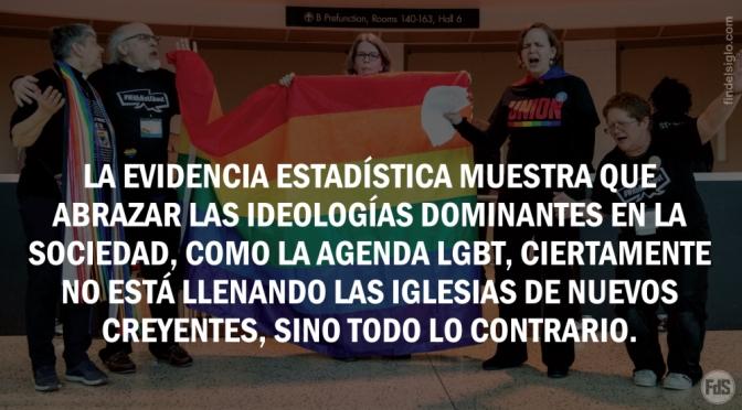 Iglesias protestantes están muriendo tras abrazar la agenda LGBT